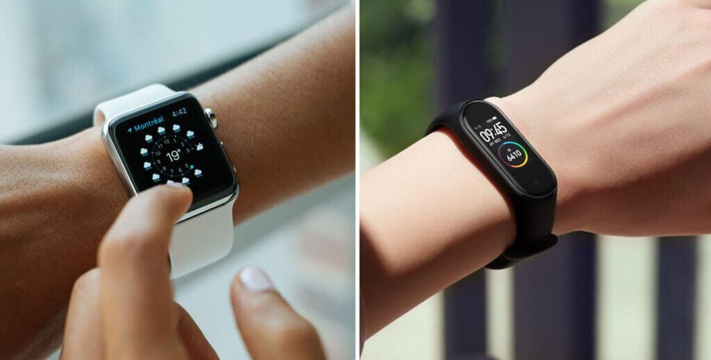 Smartwatch versus Smartband