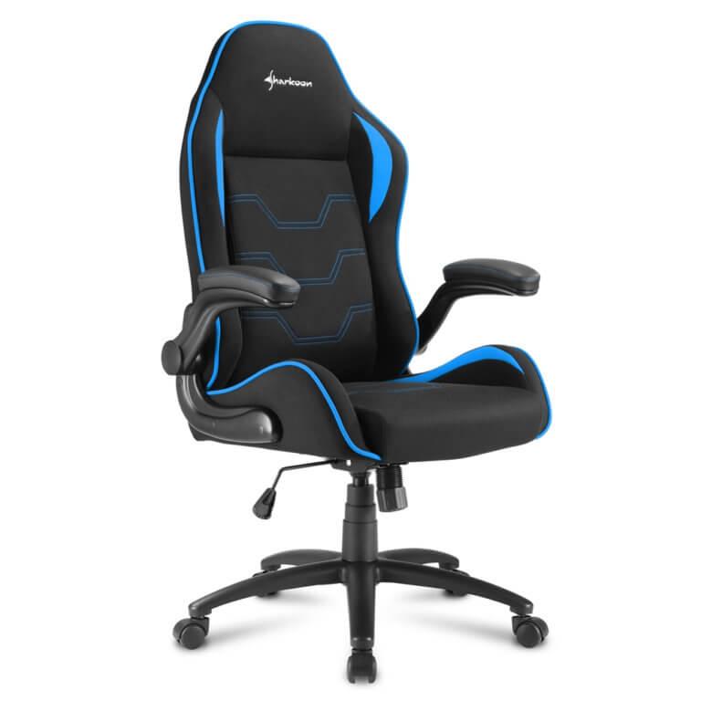 Cadeira Gaming Sharkoon Elbrus 1 Preta/Azul