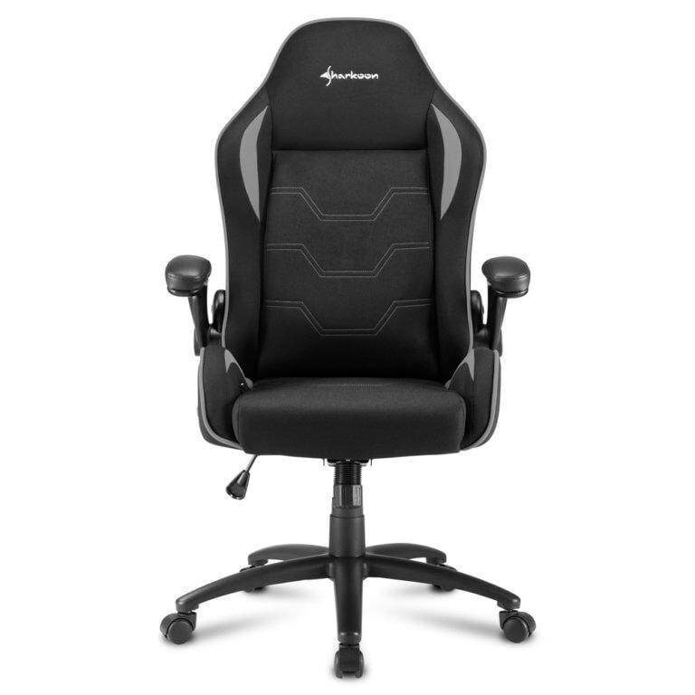 Cadeira Gaming Sharkoon Elbrus 1 Preta/Cinzenta