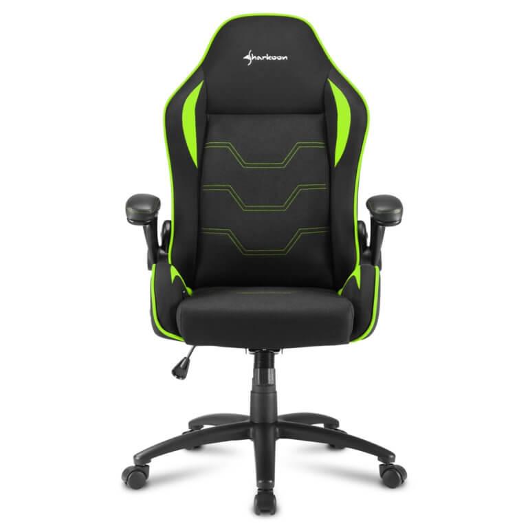 Cadeira Gaming Sharkoon Elbrus 1 Preta/Verde