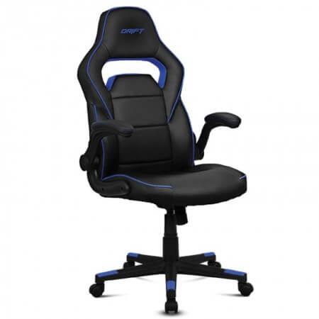 Cadeira Gaming Drift DR75 Preta/Azul