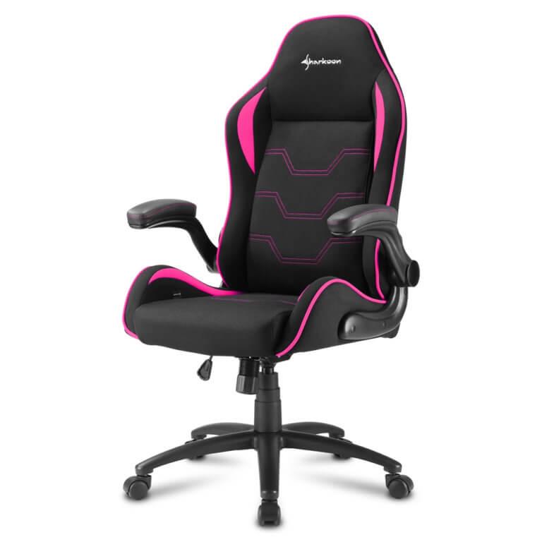 Cadeira Gaming Sharkoon Elbrus 1 Preta/Rosa