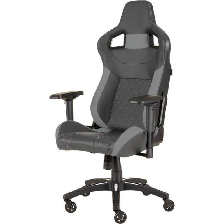 Cadeira Gaming Corsair T1 Race V2 Preta/Cinzenta (Edição Limitada)