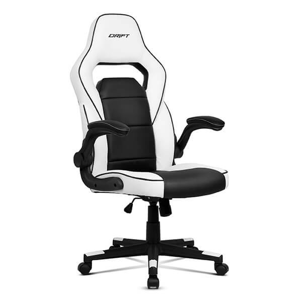 Cadeira Gaming Drift DR75 Branca/Preta