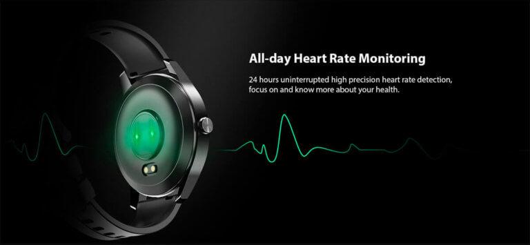 Monitorização de batimentos cardíacos todo o dia