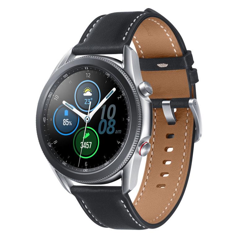 Smartwatch Samsung Galaxy Watch 3 45mm LTE Prateado