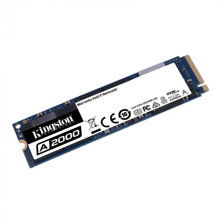 SSD M.2 2280 Kingston A2000 1TB 3D TLC NVMe