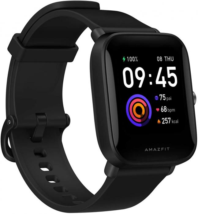 Smartwatch Amazfit Bip U Preto