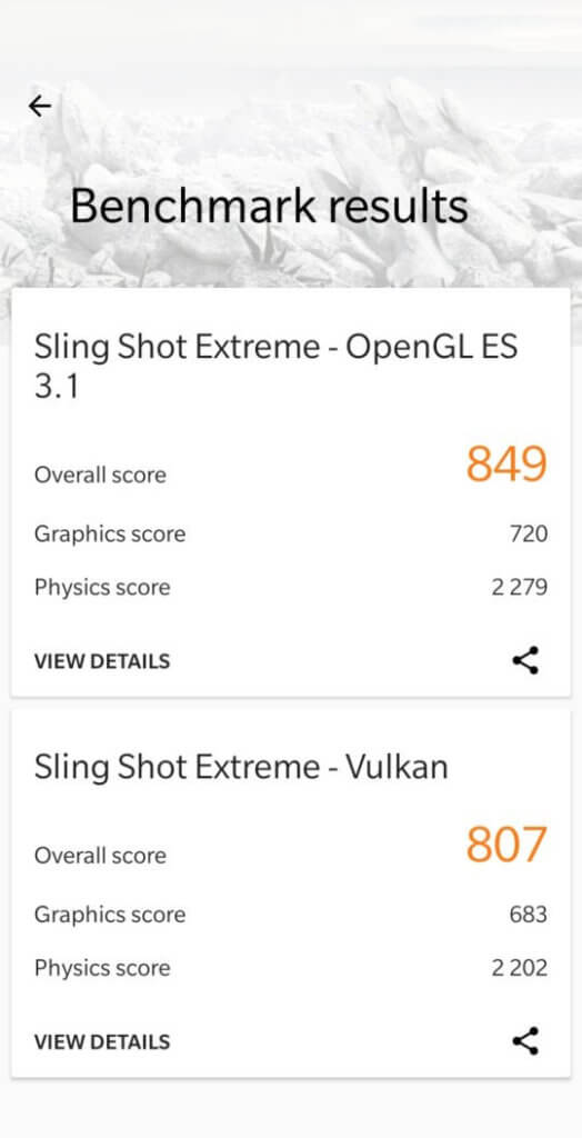 Resultados de desempenho Geekbench 4, 3Dmark e Antutu