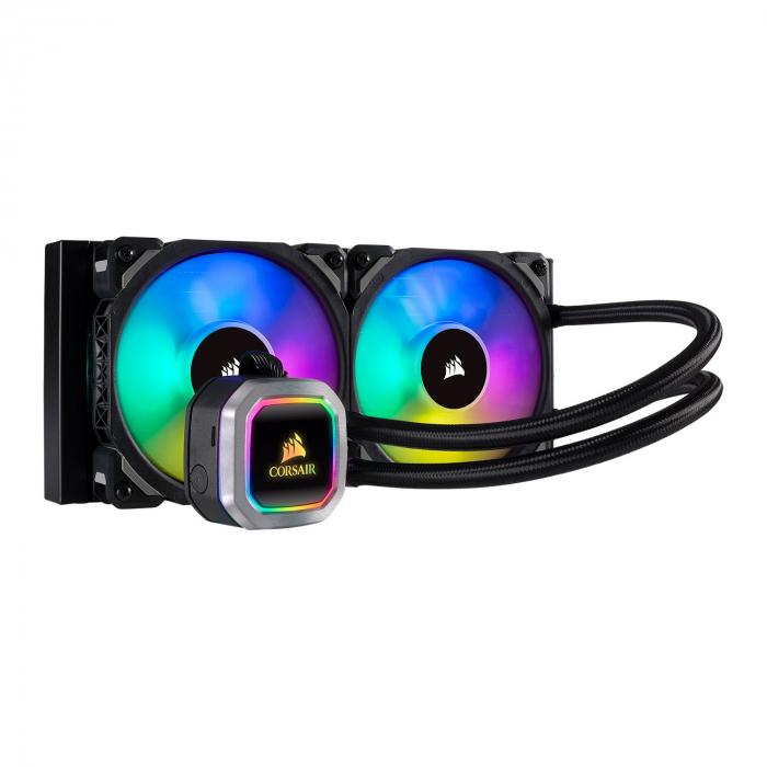Water Cooler CPU Corsair Hydro Series H100i RGB Platinum 240mm