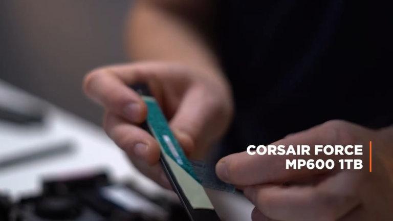 SSD M.2 2280 Corsair Force MP600 1TB 3D TLC NAND NVMe