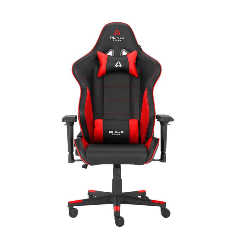 Cadeira Gaming Alpha Gamer Nimbus Preta/Vermelha