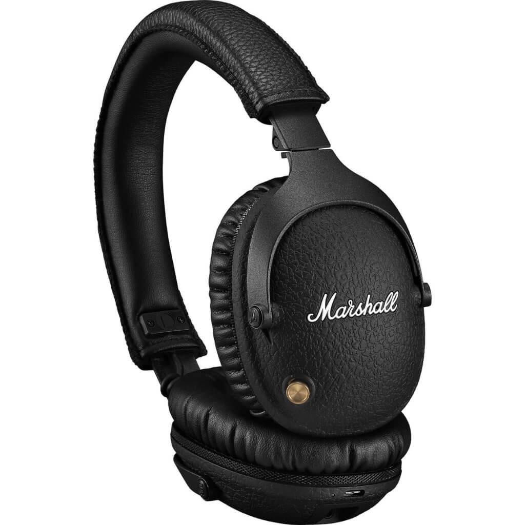 Headphones Marshall Monitor II A.N.C Bluetooth Pretos