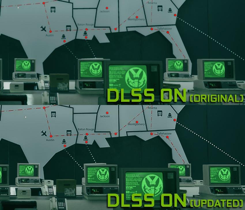 Imagens capturadas a 1080p usando o modo de Qualidade DLSS 2.0