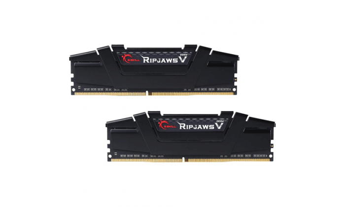 Memória RAM G.SKILL Ripjaws V 16GB (2x8GB) DDR4-4000MHz CL16 Preta