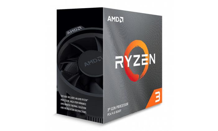Processador AMD Ryzen 3 3300X Quad-Core 3.8GHz c Turbo 4.3GHz 18MB