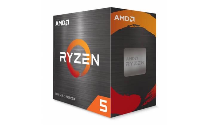Processador AMD Ryzen 5 5600X 6-Core 3.7GHz c Turbo 4.6GHz 35MB