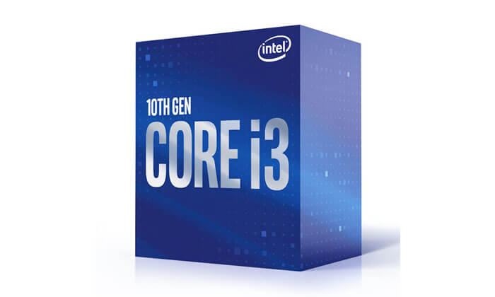 Processador Intel Core i3 10100 4 Core 3.6GHz c Turbo 4.3GHz 6MB