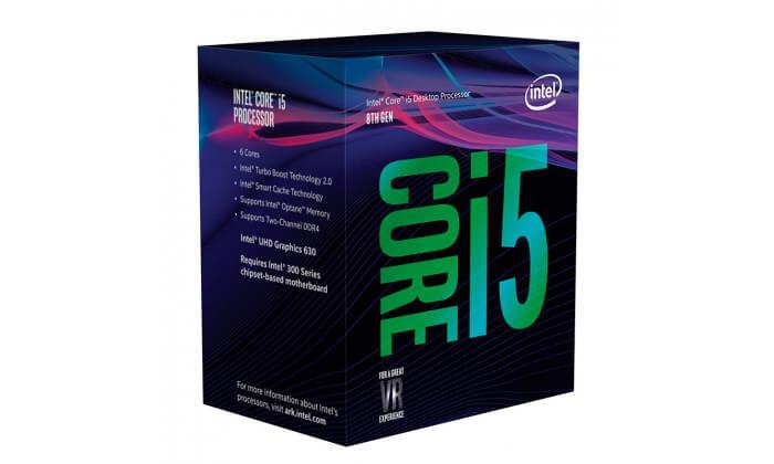 Processador Intel Core i5-8400 Hexa-Core 2.8GHz c Turbo 4.0GHz 9MB