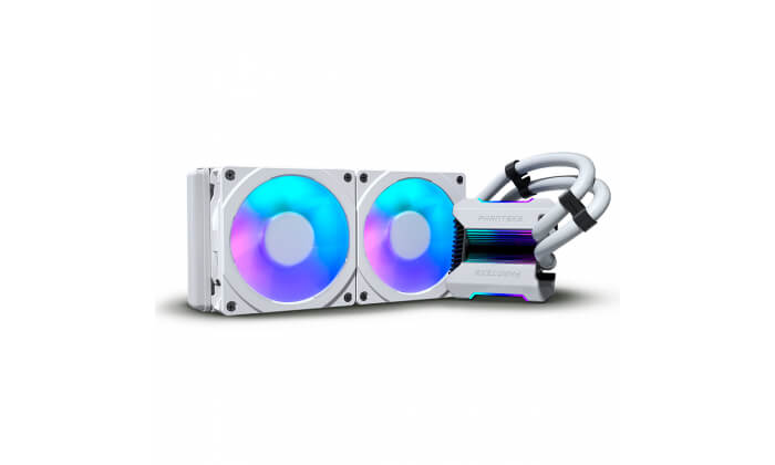 Water Cooler CPU Phanteks Glacier One 240 MPH D-RGB HALOS All-In-One Branco